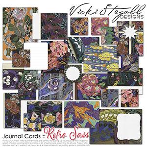 Retro Sass - Journal Cards