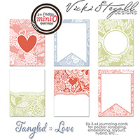 Tangled Journal Cards :: Love