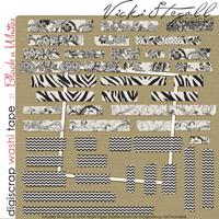 Washi Tape {Black n White}