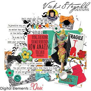 Desi Elements by Vicki Stegall