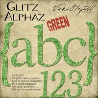 Glitz Alphaz {Green}