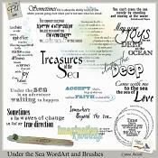 Under the Sea WordArt