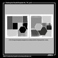 FotoInspired DoubleTemplate No. 78