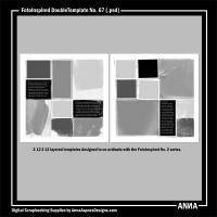 FotoInspired DoubleTemplate No. 67