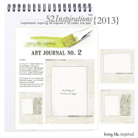 52 Inspirations :: 2013 Art Journal No. 2