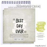 52 Inspirations :: 2014 {Week 33}