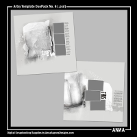 Artsy Template DuoPack No. 6