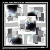 Winter Template Album No. 1A