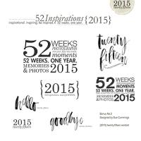 52 Inspirations 2015-Bonus No. 2