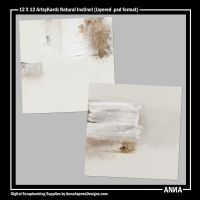 12 X 12 ArtsyKardz Natural Instinct