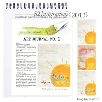 52 Inspirations :: 2013 Art Journal No. 1
