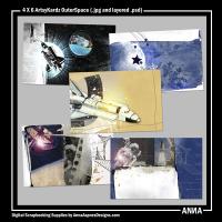 4 X 6 ArtsyKardz OuterSpace