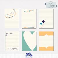 Honey Honey Journaling Cards