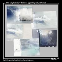 4 X 6 ArtsyKardz Sky's The Limit