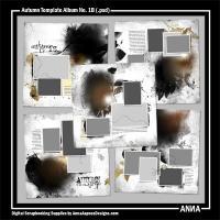 Autumn Template Album No. 1B