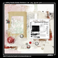 ArtPlay Palette Shabby Christmas