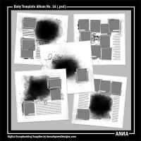 Baby Template Album No. 1A