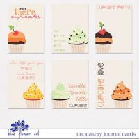 Cupcakery Journal Cards