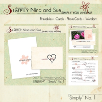 """""""Simply"""" Cards + Photocards + WordArt Professional"""
