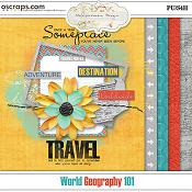 World Geography 101 (mini kit)