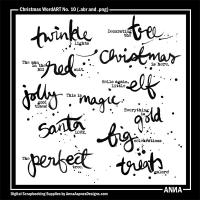Christmas WordART No. 10