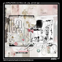 ArtPlay Palette Love Story