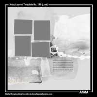 Artsy Layered Template No. 119