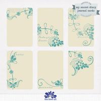 My Secret Diary journal/pocket cards