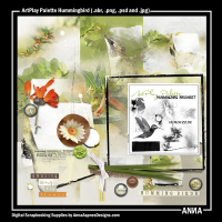 ArtPlay Palette Hummingbird