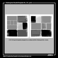 FotoInspired DoubleTemplate No. 33
