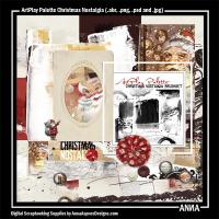 ArtPlay Palette Christmas Nostalgia
