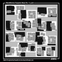 MonthReview Template Album No. 1