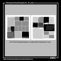 FotoInspired DoubleTemplate No. 18
