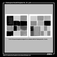 FotoInspired DoubleTemplate No. 22