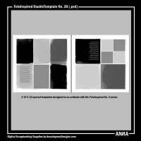 FotoInspired DoubleTemplate No. 28
