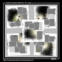 Holiday Template Album No. 4A