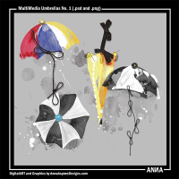 MultiMedia Umbrellas No. 1
