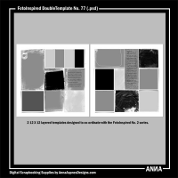 FotoInspired DoubleTemplate No. 77