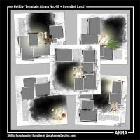 Holiday Template Album No. 4E + CoverSet