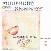52 Inspirations 2015 - week 33