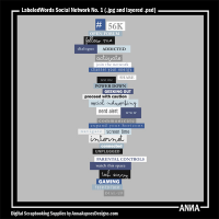 LabeledWords Social Network No. 1