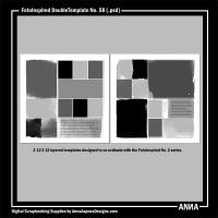 FotoInspired DoubleTemplate No. 58