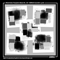 WaterColor Template Album No. 1D