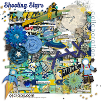 shOOting Stars :: An Oscraps 2014 Collaboration