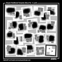 Simple FotoBlendz Template Album No. 1