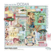 take me tO the Ocean :: An Oscraps 2015 Collaboration