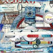 Somewhere Near the Sea Elements by Lorie Davison