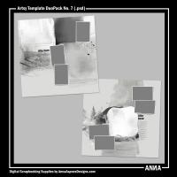 Artsy Template DuoPack No. 7