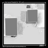 Artsy Layered Template No. 154