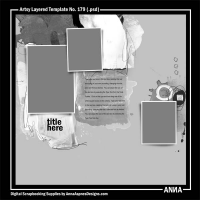 Artsy Layered Template No. 179